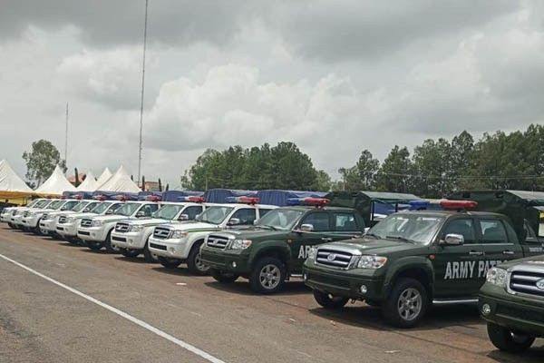 Anambra acquires 40 new trucks for security