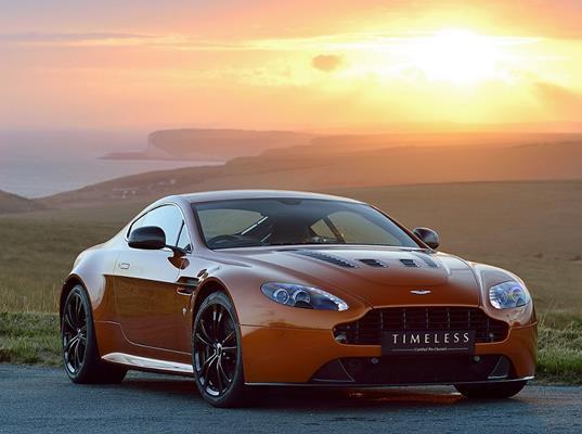 An Aston Martin