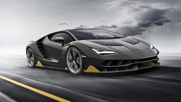 A Lamborghini