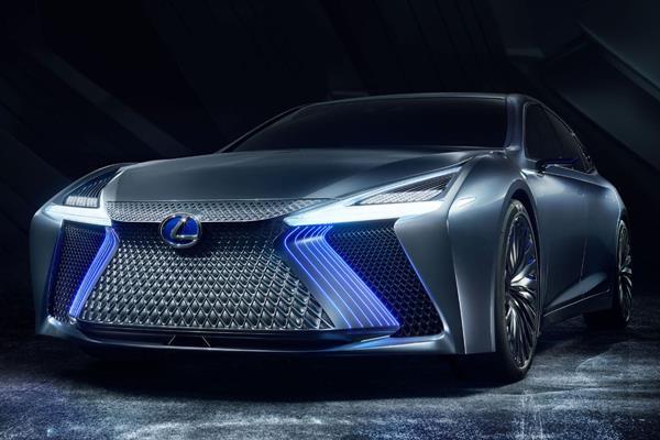 A Lexus car