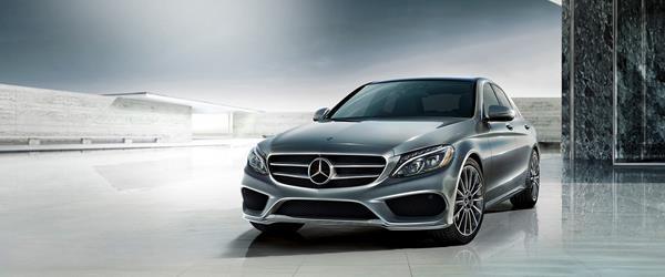 A Mercedes car