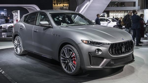 2019 Maserati Levante Trofeo At 2018 New York Auto Show