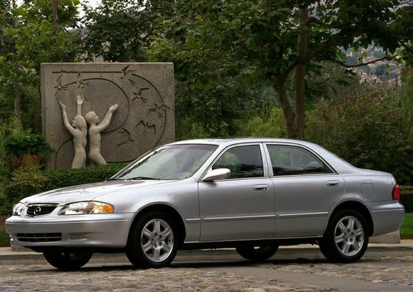 Mazda 626 2002 angular front