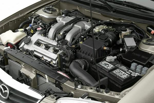 2002 Mazda 626 engine