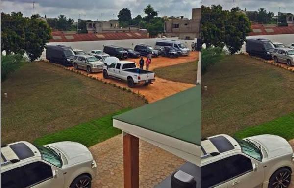 Emmanuel Adebayor's cars