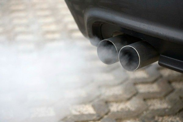 a twin exhaust