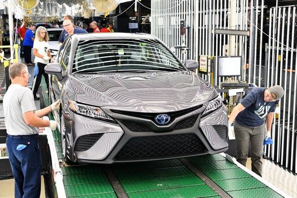 2018 Toyota Camry is recalled for oversized pistons