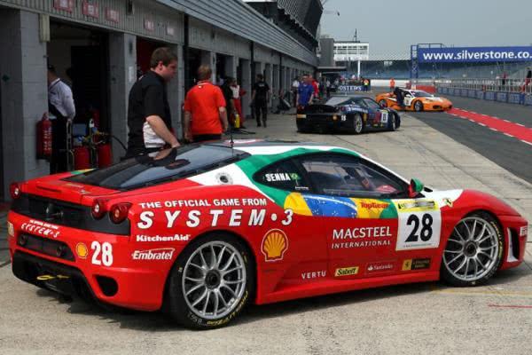 the 2007 Ferrari F430 Challenge