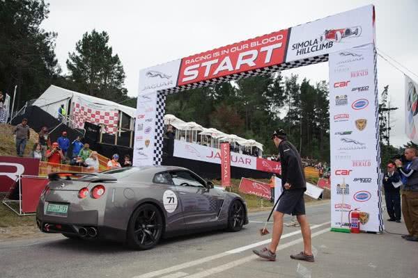 Jaguar Simola Hillclimb event