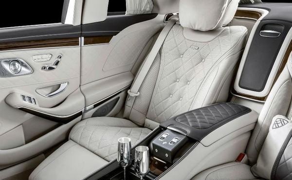 Mercedes-Maybach S650 Pullman interior