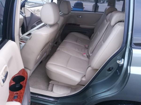 Toyota Highlander 2006 seats