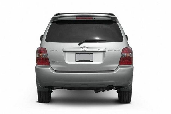Toyota Highlander 2006 rear view