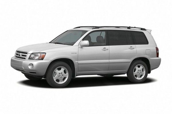 Toyota Highlander 2006 side view
