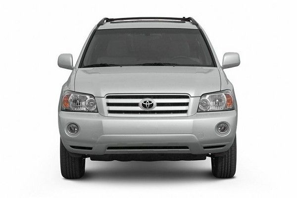 Toyota Highlander 2006 front view