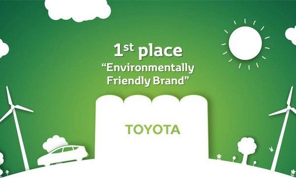 Toyota as the best Green brands