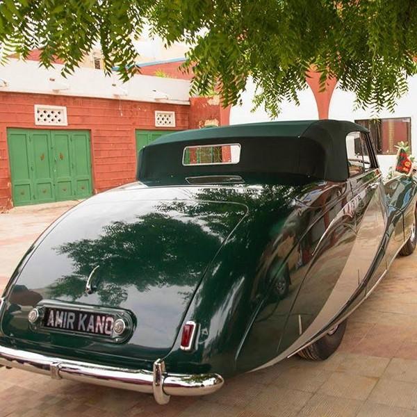 The Emir's Rolls-Royce Silver Wraith ALW 11