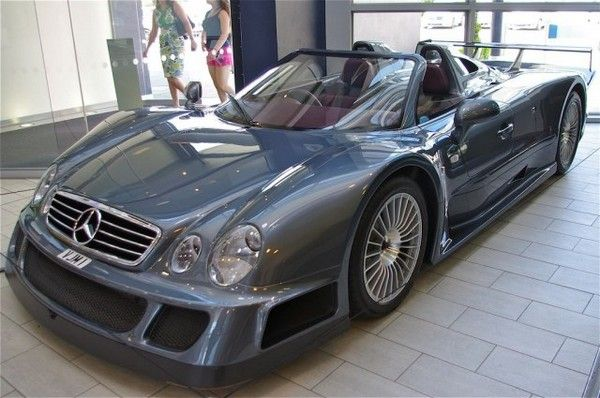 Mercedes Benz CLK GTRs