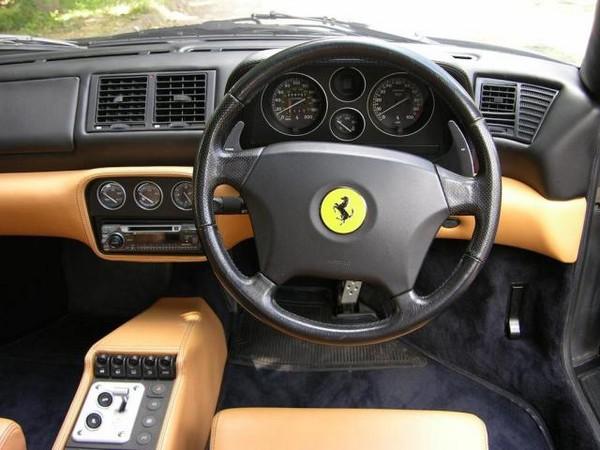 right-hand drive Ferrari F40
