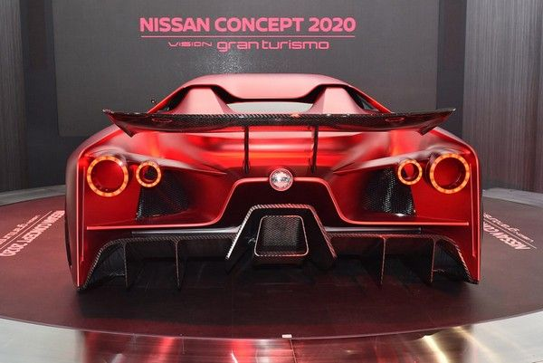 The 2020 Nissan Vision GT-R R36