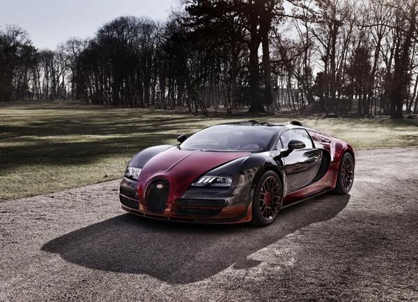 Bugatti Veyron Grand Sport Vitesse La Finale angular front
