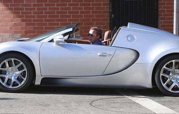 Arnold Schwarzeneggerg's Bugatti Veyron