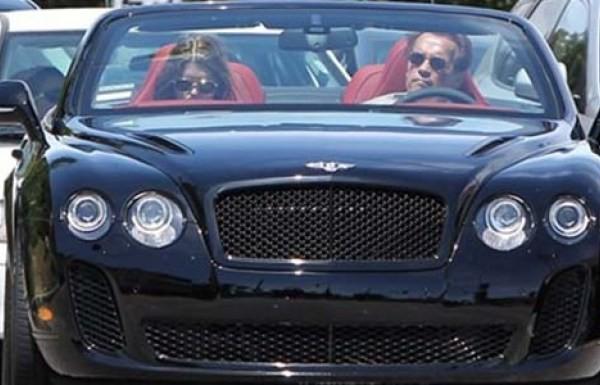 Arnold Schwarzeneggerg's Bentley Continental GTC