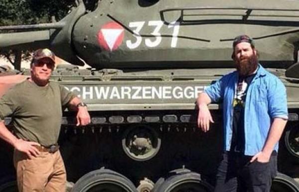 Arnold Schwarzeneggerg's M47 Patton