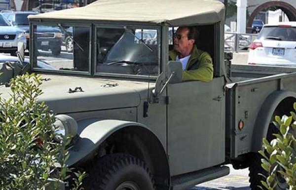 Arnold Schwarzeneggerg's Dodge M37 military truck