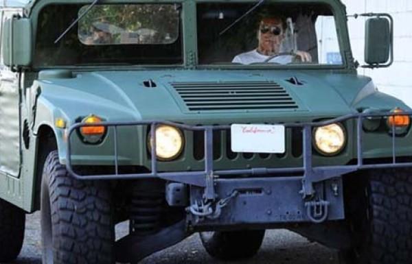 Arnold Schwarzeneggerg's Hummer H1