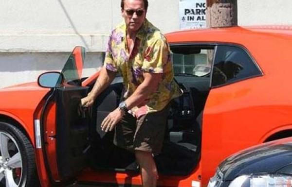 Arnold Schwarzeneggerg's Dodge Challenger SRT