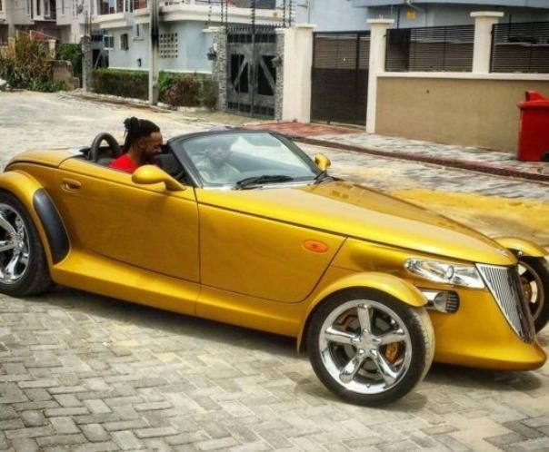 Jude Abaga AKA MI's car
