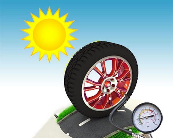 car tyre pressure