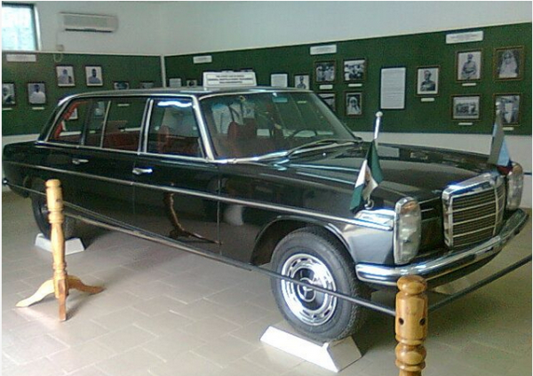 Murtala Mohammed's Mercedes-Benz at the Museum