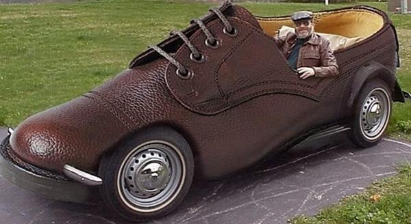 a shoe car