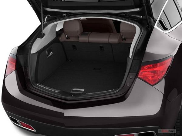 Acura ZDX 2010 cargo space