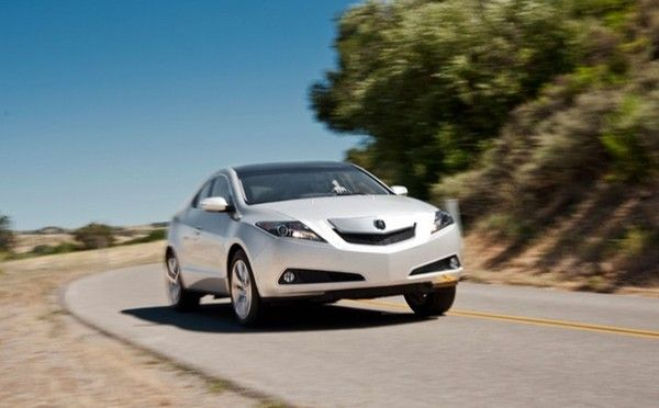 Acura ZDX 2010 model on the road