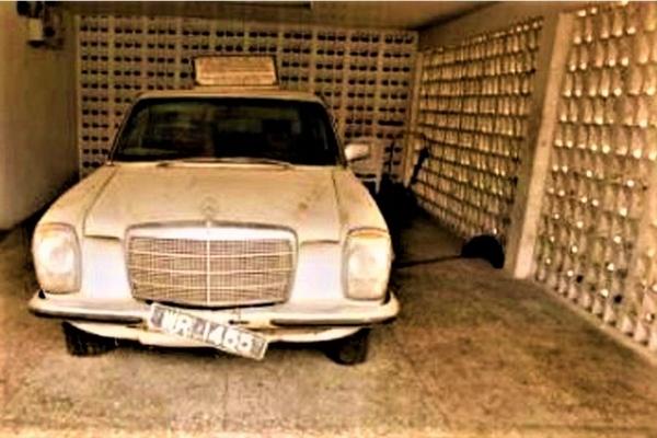Obafemi Awolowo's Mercedes-Benz front view