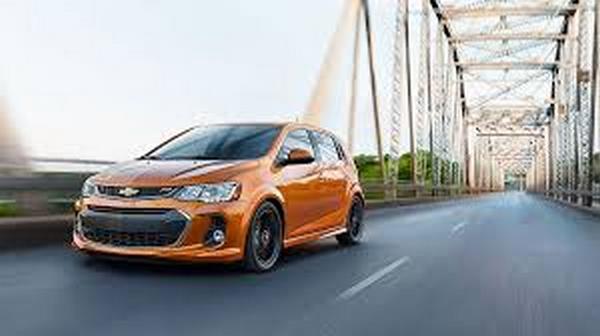 Chevrolet Sonic angular front
