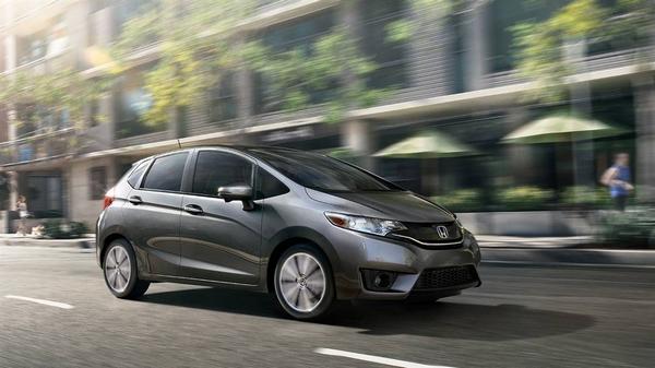Honda Fit angular front