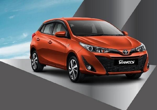 Toyota Yaris angular front