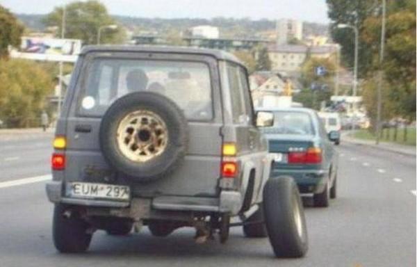 a funny car repair