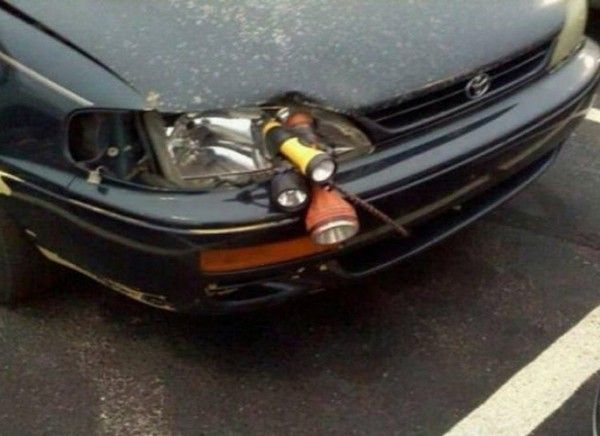 a funny car repair