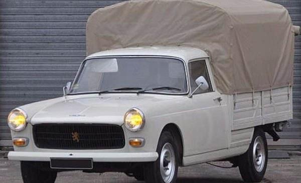 Peugeot pickup-van