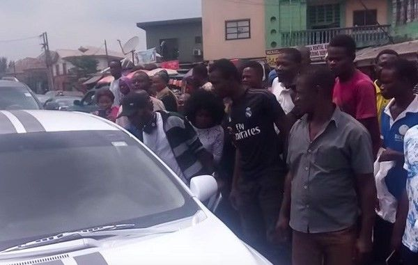 Nigerians first spot a self-driving car