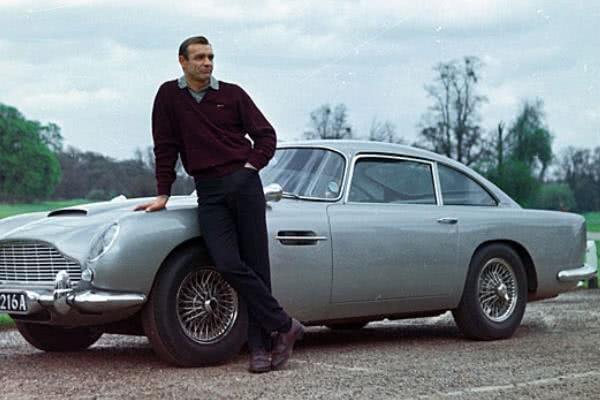 The 1963 Aston Martin DB 5 and James Bond