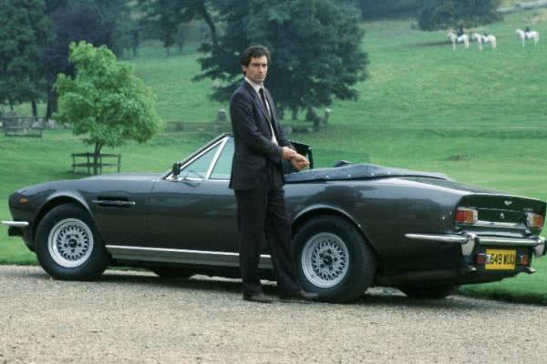 The Aston Martin V8 Volante