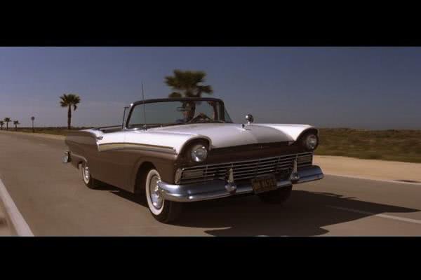 The Ford Fairlane in a brief scene in James Bond movie