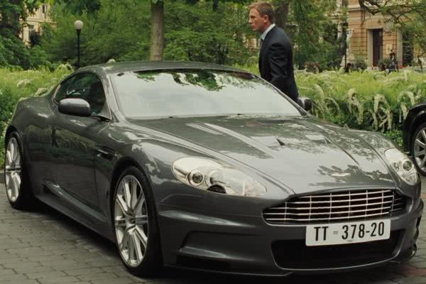 Aston Martin DBS V12 (2006) in James Bond film