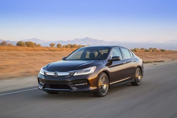 Honda Accord angular front