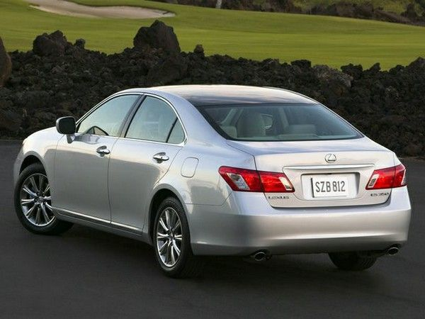 2007 Lexus ES 350 angular rear